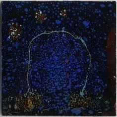 Takahiko Hayashi ~ D-17, 2007 (reverse painting on glass)