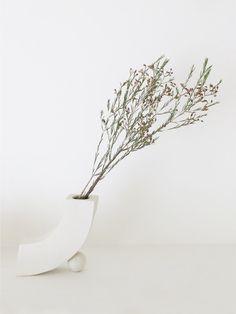 Rachel Saunders curve vase