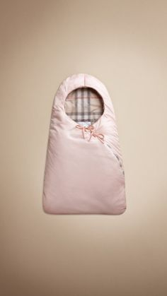 Quilted nylon baby sleeping bag..oh i love.