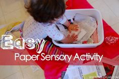 Does your toddler enjoy squishing play dough, scooping rice, or dumping buckets of sand? What are your favorite sensory activities? (p.s. It's widely recognized that sensory activities play a central role in infant and child brain development.)
