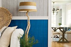 Learn how to create a faux fabric effect with paint.   Photo: Wendell T. Webber   thisoldhouse.com