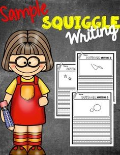 squiggle writing Squiggle example from my writing pack this writing pack pays homage to my mom, who is my teaching inspiration, and was a teacher for 35 years she used to do squiggle stories with her students, back in the 'olden days' and when i started teaching, she introduced me to the good old squiggle story.