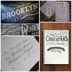 Jon & Erin Stewart: Hand Lettering - Inspiring Artists and DIY - calligraphy typography and lettering inspiration and tutorials featured on www.jonanderinstewart.com