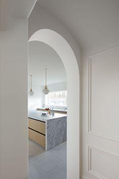 simple, minimal, clean, fresh, archway