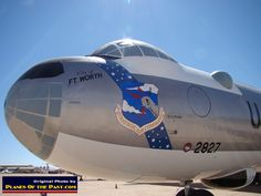 """B-36J Peacemaker """"City of Ft. Worth"""" S/N 22827 at the Pima Air Museum, Tucson, Arizona"""