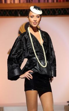 Irina Krutikova | Gallery Fur Fashion, Stylists, Bomber Jacket, Punk, Gallery, Jackets, Fashion Design, Style, Swag
