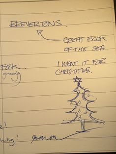 Brevertons book of the Sea - on a Christmas list ..