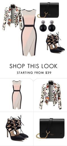 """""""JOB WEAR"""" by anisia-ionita on Polyvore featuring Miss Selfridge, LE3NO and Mulberry"""