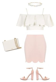 """Untitled #8"" by alicia-nanlohy on Polyvore featuring Topshop, Steve Madden, Tory Burch and Robert Rose"