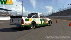 Our WM Careers iRacing truck driven by TJ Majors, Spotter for NASCAR's most popular driver, Dale Earnhardt Jr. http://www.wmcareers.com
