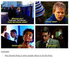 And of course Martha's mom refused to do the thing, she is one that I will never like even after she sided with the doctor.