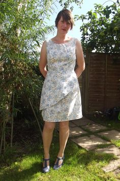 sew far sew good: My Truffle Dress.Colette pattern.