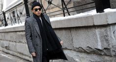 http://chicerman.com  billy-george:  Eugene Tong New York Fashion Week Photos from George Elder  #streetstyleformen