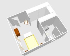 Resultado de imagen para planos de dormitorios matrimoniales con baño y vestidor