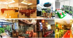 Few of the 'room's availble for event and functions ay Kafe Pisa Mahakam. For more, contact Dian: +6285959964446