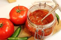 Mexican salsa roja, a basic salsa in the Mexican cuisine. #recipe #salsa #mexican #kitchen