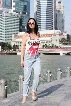 Casual chic with Forever 21 and Chanel