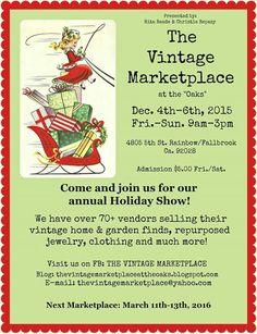 Next event! Vintage Antiques