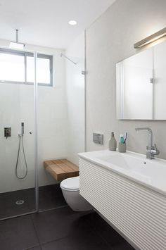 I would love a bench seat or maybe just an Amazon removable teak/bamboo seat in the shower at Aireys Inlet