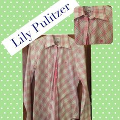 NWOT Lilly Pulitzer top; 4 Colors are pink lime green and green Lilly Pulitzer Tops