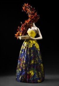 Erdem at V&A ballgowns exhibition #OtherWorlds #dreamy #fashion