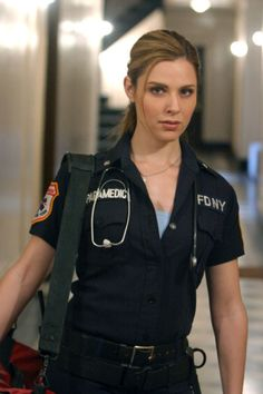 Cara Buono as Grace Foster in Third Watch
