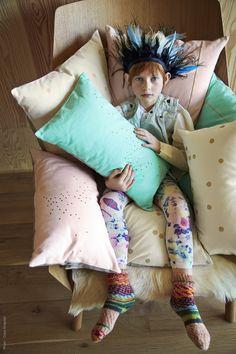 Coussins - Cushions - La cerise sur le gateau - Photo : Coco Amardeil www.lacerisesurlegateau.fr