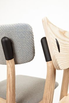 A cool detail on this chair from De Vorm #mid-century #chair #custommade