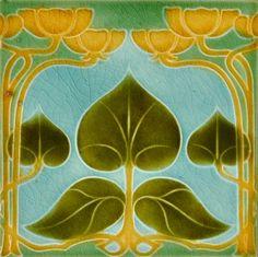 T. & R. Boote c1906/1908 - RS0087* - Art Nouveau Tiles