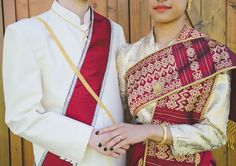 Traditional matching outfits