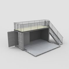 Car Detailing Tools, Shipping Container Cafe, Cafe Decoration, Sketchup Model, 3d Architecture, Model Ships, Sushi, Rest, Chairs