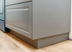 Perfecting the Imperfect In Our IKEA Kitchen: Fillers, Panels + Toe Kicks - Yellow Brick Home Kitchen Cabinets Toe Kick, Ikea Cabinets, Kitchen Vent, Kitchen Layout, Kitchen Design, Kitchen Decor, Kitchen Ideas, Kitchen Inspiration, Kitchen Storage