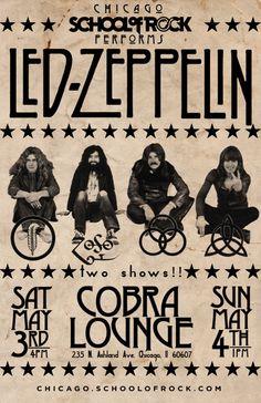 Led Zeppelin in Chicago