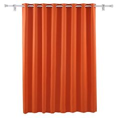 Deconovo Blackout Blind Curtain Thermal Insulated Wide Panel Curtains for Living Room 100 x 84 Inch Orange 1 Panel http://ift.tt/2jpfqM8