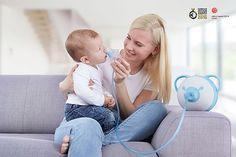Babys atmen vor allem durch die Nase – eine verstopfte Nase ist daher für die…