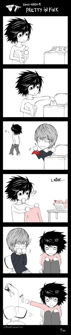 I hope those are Misa's underwear...and not Light's.     That would scare me.