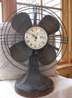 Lady Anne's Charming Cottage ~ A CREATIVE WAY TO USE OLD FANS.....<3 THIS IDEA....:D