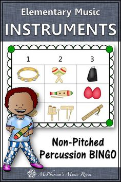 Music Bingo Game Non-Pitched Percussion Instruments LOVE this elementary music game reinforcing non-pitched percussion instruments. Your students will BEG to play this music bingo game again. Marching Band Problems, Marching Band Humor, Flute Problems, Music Bingo, Bingo Games, Music Lesson Plans, Music Lessons, Music Education, Music Teachers