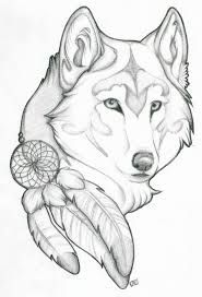 wolf moon tattoo - Google Search