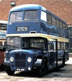 Old Bus Photos - Old bus Photos and informative copy Routemaster, Buses And Trains, Double Decker Bus, Bus Coach, Busse, 4x4, Camper Trailers, Vintage Coach, Public Transport