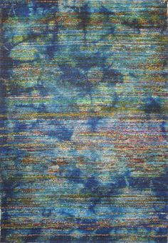 Foreign Accents  Shades Of Blue In Our Midnight Rug From The Urban  Collection. #