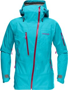 Norr Lofoten Gore-Tex Active Shell Jacket - Womens Iceberg Blue, M Snowboarding Outfit, Cute Coats, Jackets For Women, Clothes For Women, Ski And Snowboard, Rain Wear, Gore Tex, Sport Wear, Skiing
