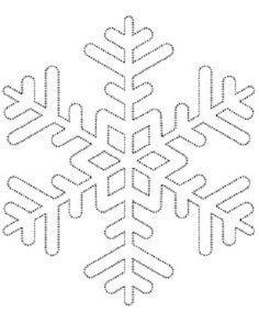 Comment fabriquer un flocon de neige tout brillant! UN PATRON GRATUIT! - Décoration - Des idées de décorations pour votre maison et le bureau - Trucs et Bricolages - Fallait y penser !: