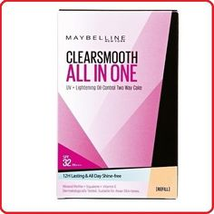 Maybelline Clear Smooth All In One Face Powder SPF 32 PA   ( Refill )