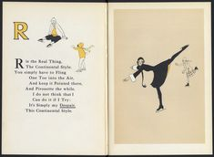 "Pictures by Joyce Dennys, verses by ""Evoe"" (E. V. Knox) (The Bodley Head, 1926) A Winter Sports Alphabet - 50 Watts"