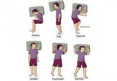 Posisi Tidur dan Kepribadian Anda