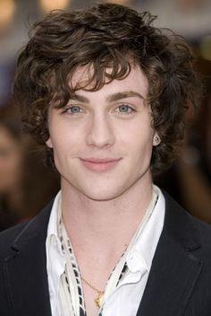 Aaron Johnson. I'm a sucker for curls on guys.
