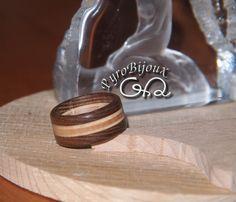 anello in legno di mia creazione