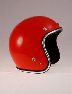 Motorcycle Accessories -- Helmets -- Vintage 70's SS Champ Helmet