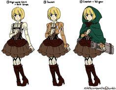 Scouting Legion Lolita-Inspired Uniform -click for more!-
